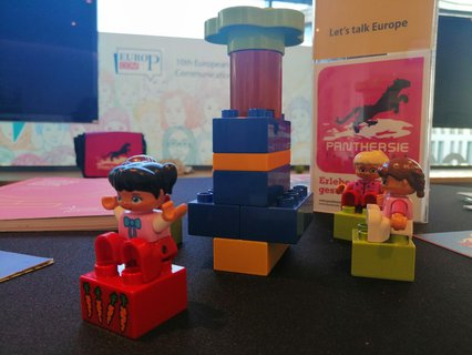 Why is there LEGO at the Market Place? Curious? Then come to the stand and find out yourself